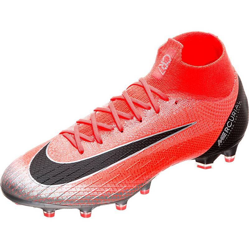 brand new 5759a 9dbd2 Nike Mercurial Superfly VI CR7 AG-Pro Fußballschuhe Herren neonrot  schwarz