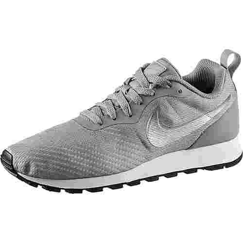 Nike MD Runner 2 Sneaker Damen wolf grey-metallic silver