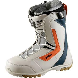 Nitro Snowboards Sentinel Snowboard Boots Herren white-blue-orange