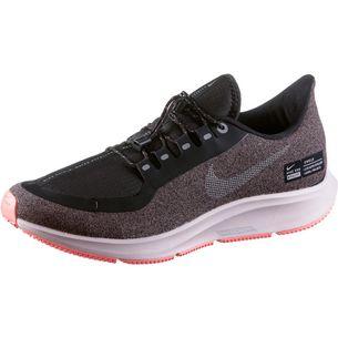 Nike AIR ZOOM PEGASUS 35 SHIELD Laufschuhe Damen oil-grey-metallic-silver-smokey-mauve