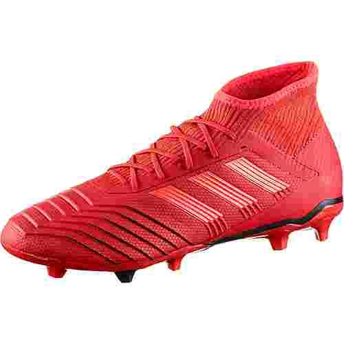 adidas PREDATOR 19.2 FG Fußballschuhe active red