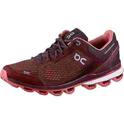 ON CLOUDSURFER Laufschuhe Damen mulberry-coral