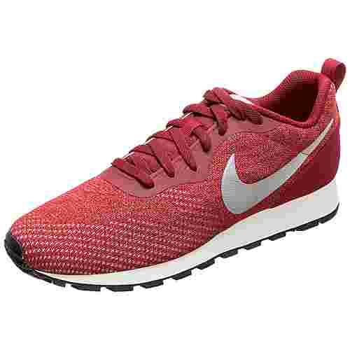 Nike MD Runner 2 Engineered Mesh Sneaker Herren dunkelrot / silber