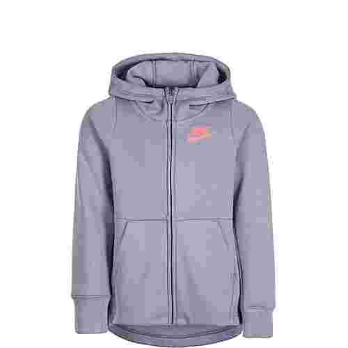 Nike Full-Zip Trainingsjacke Kinder grau