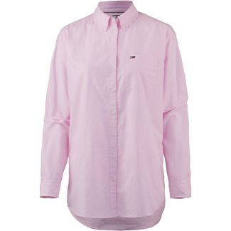 Tommy Jeans Tommy Classics Langarmhemd Damen oxford pink