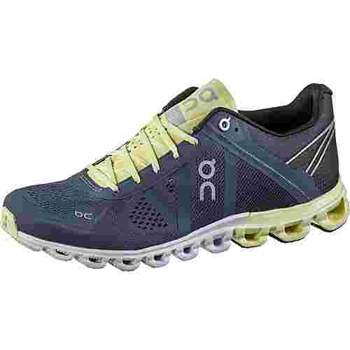 ON Cloudflow Laufschuhe Damen smoke-limelight