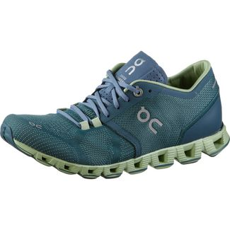 ON Cloud X Laufschuhe Damen storm-willow