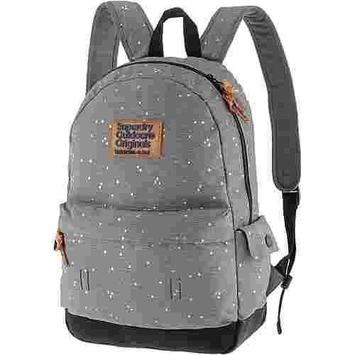 Superdry Rucksack Daypack Damen grey glitter star