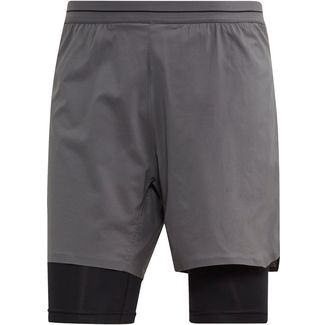 adidas Agravic 2in1 Funktionsshorts Herren grey five