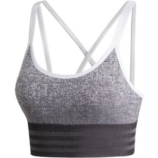 adidas All Me Primeknit Sport-BH Damen white