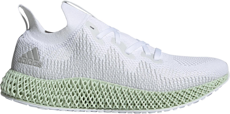 adidas Alphaedge 4D Laufschuhe Herren ftwr white grey three F17 linen green im Online Shop von SportScheck kaufen