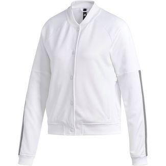 adidas Snap Bomberjacke Damen white