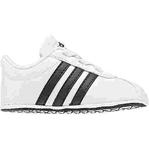 adidas VL COURT 2.0 Sneaker Kinder white-black