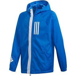 adidas Windbreaker Kinder blue
