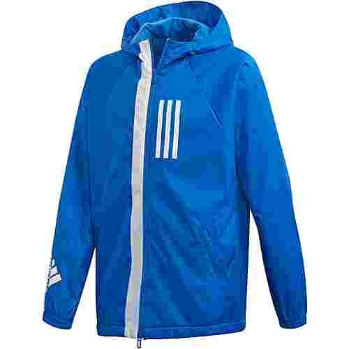 adidas Windbreaker Kinder blue