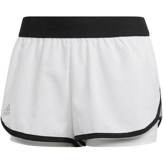 adidas CLUB Funktionsshorts Damen white