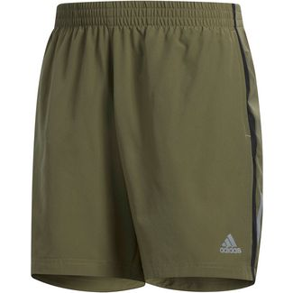 adidas OWN THE RUN Laufshorts Herren raw khaki