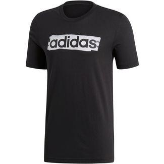 adidas E Lin T-Shirt Herren black