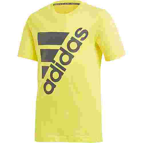 adidas T-Shirt Kinder shock yellow
