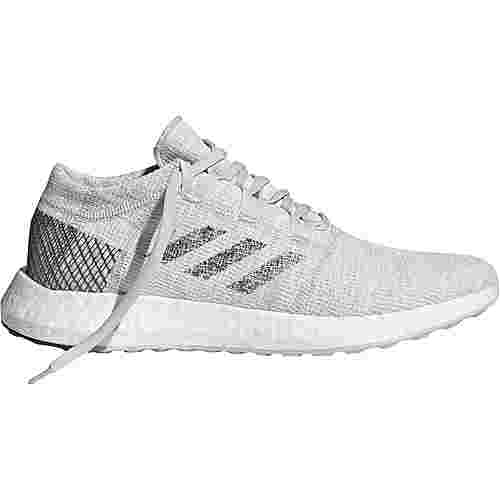 adidas PureBOOST GO Laufschuhe Herren non-dyed-grey six-raw white