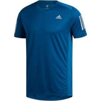 adidas OWN THE RUN Laufshirt Herren legend marine-reflective silver