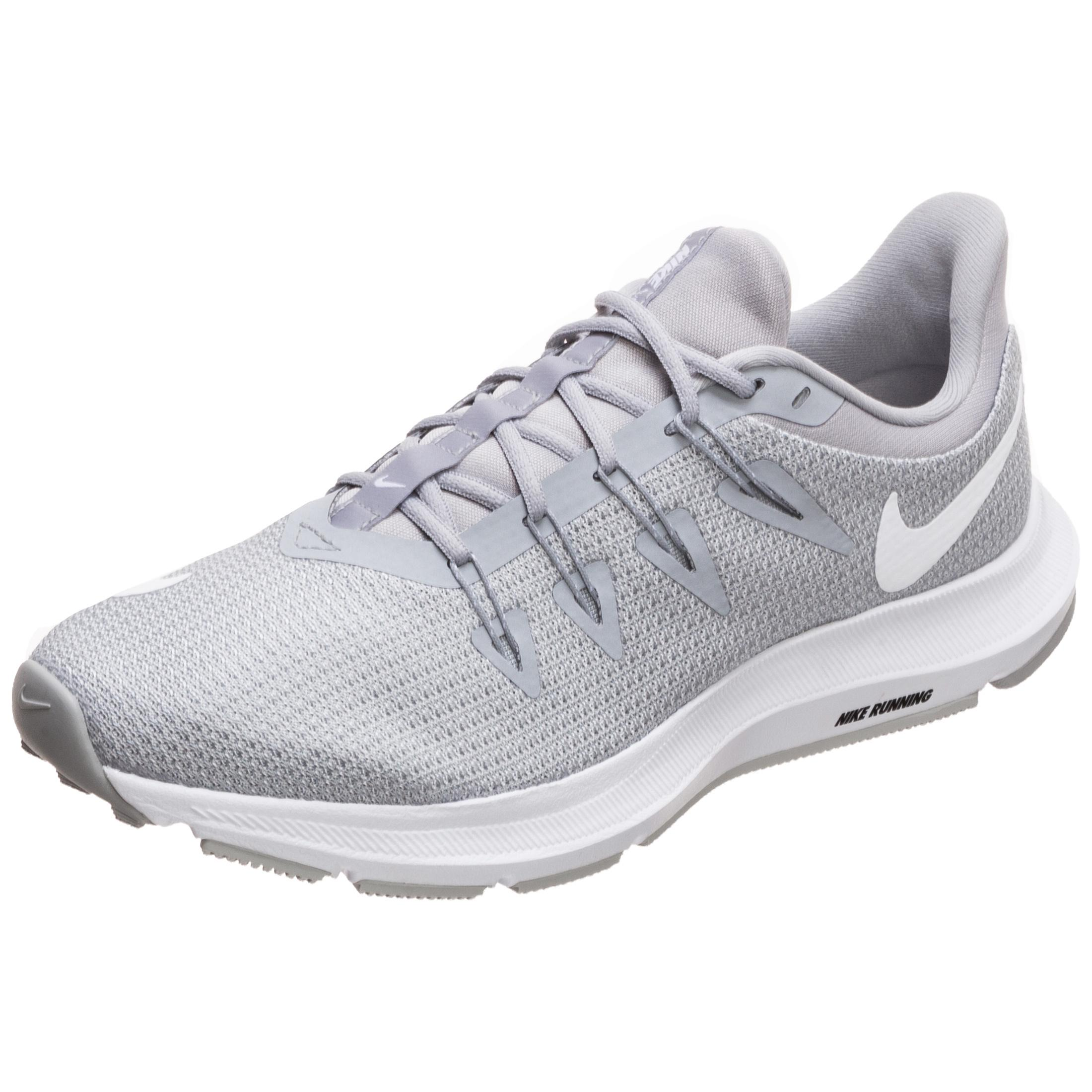 Nike Quest Laufschuhe Damen grau   weiß im Online Shop von SportScheck kaufen Gute Qualität beliebte Schuhe