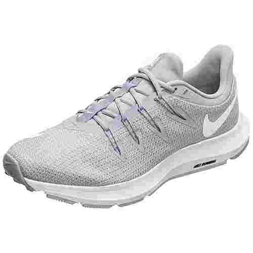 Nike Quest Laufschuhe Damen grau / weiß