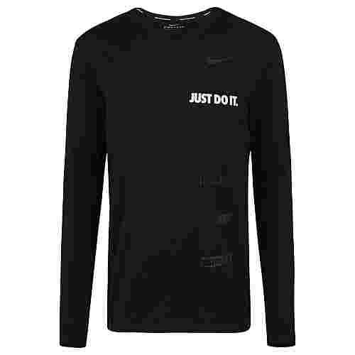 Nike Sphere Flash Crew 2.0 Laufshirt Herren schwarz