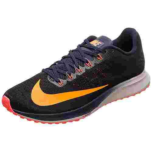 Nike Air Zoom Elite 10 Laufschuhe Herren schwarz / orange