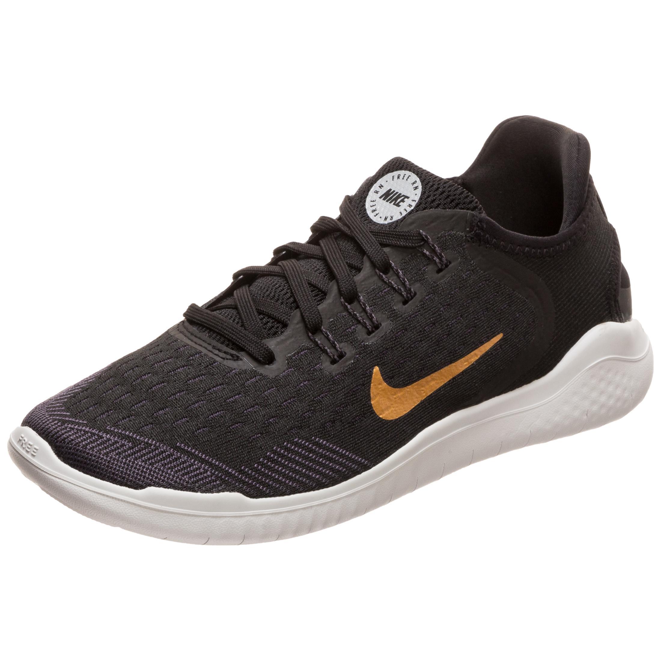Nike Free RN 2018 Laufschuhe Damen black white im Online Shop von SportScheck kaufen