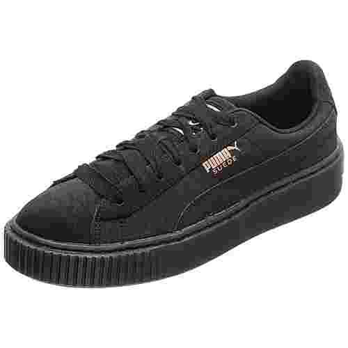 PUMA Suede Platform Artica Sneaker Damen schwarz