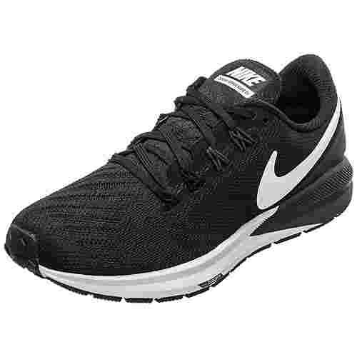 Nike Air Zoom Structure 22 Laufschuhe Damen schwarz / weiß