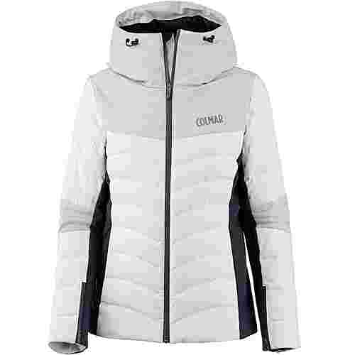 COLMAR Courchevel Daunenjacke Damen white-cloud-blue black
