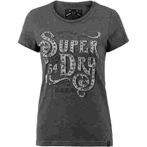 Superdry T-Shirt Damen khaki marl