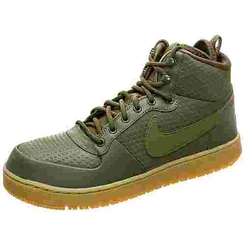 Nike Ebernon Mid Winter Sneaker Herren oliv