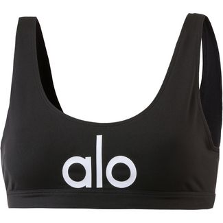 alo yoga Sport-BH Damen black/white