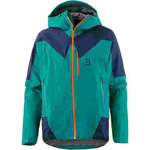 Haglöfs L.I.M GORE-TEX® Hardshelljacke Herren Alpine green/tarn blue