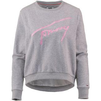 Tommy Jeans Sweatshirt Damen light grey heather
