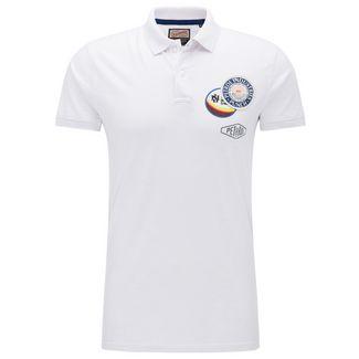 Petrol Industries Poloshirt Herren Bright White