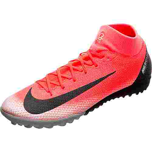 Nike Mercurial SuperflyX VI CR7 Academy Fußballschuhe Herren neonrot / schwarz