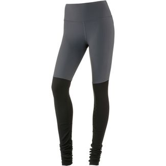alo yoga Tights Damen anthracite/black