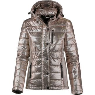 Superdry Steppjacke Damen rose gold spot metallic