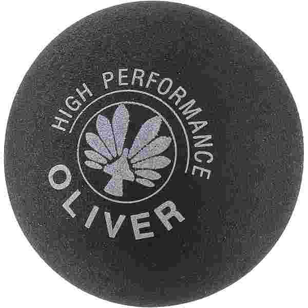 OLIVER gelb langsam Squashball schwarz