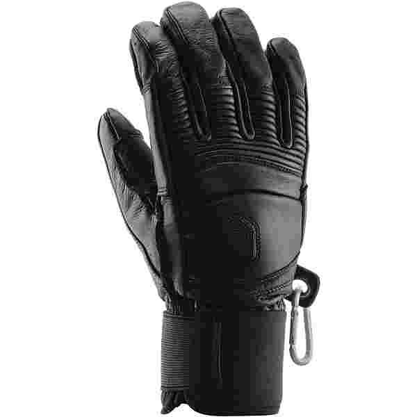 Hestra Leather Skihandschuhe Herren svart