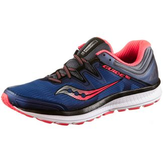 Saucony Guide Iso Laufschuhe Herren Blue-Grey-ViziRed