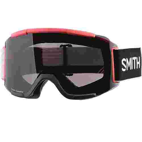 Smith Optics SQUAD; Sun Black; Std Yellow Skibrille Strike
