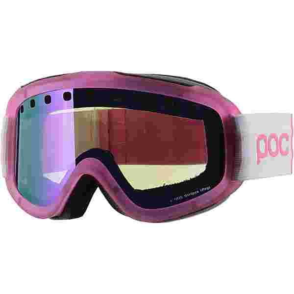 POC Iris Stripes Skibrille Ethylene pink