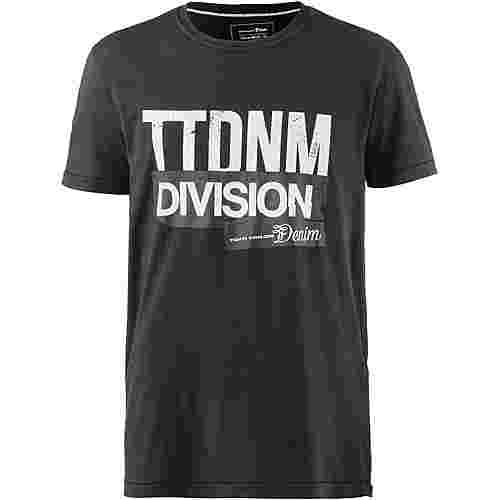 TOM TAILOR T-Shirt Herren black