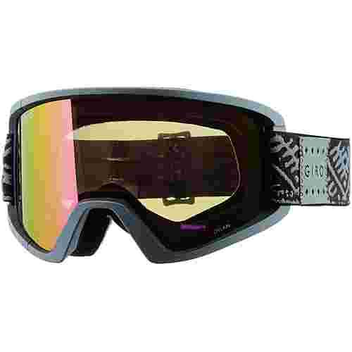 Giro Dylan;amber pink Skibrille Damen black frost casablanca