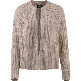Only Strickjacke Damen taupe gray
